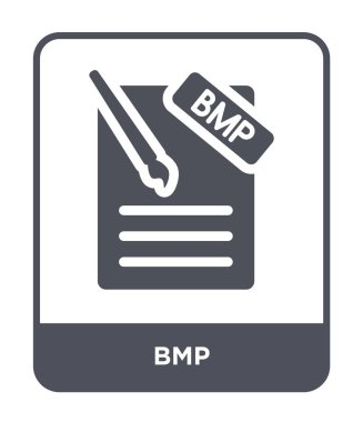 bmp icon in trendy design style. bmp icon isolated on white background. bmp vector icon simple and modern flat symbol for web site, mobile, logo, app, UI. bmp icon vector illustration, EPS10.