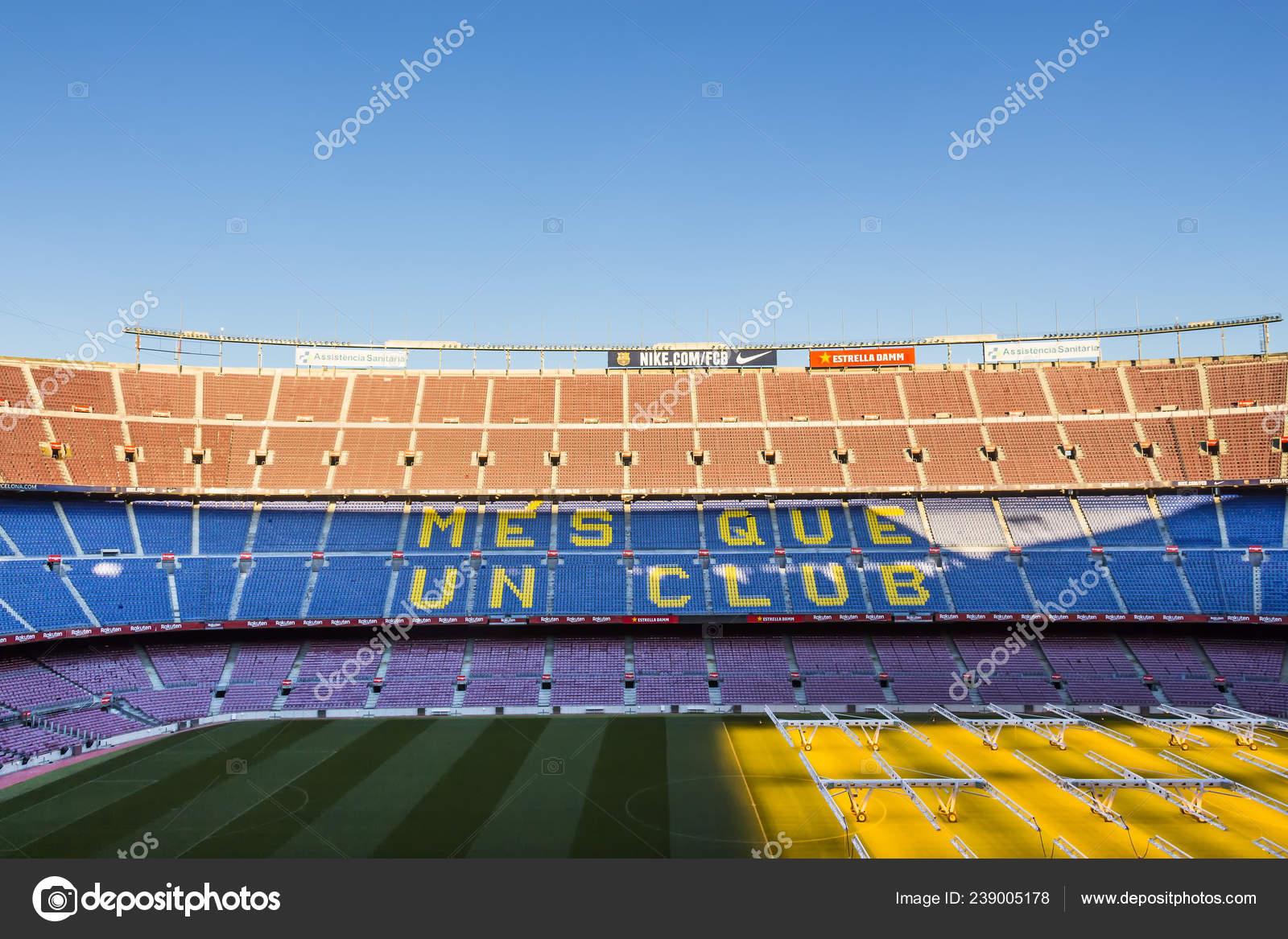 Стадион команды барселона домашний