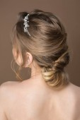 Frizura az esküvő. Vissza a véleményt. Modern esküvői frizura