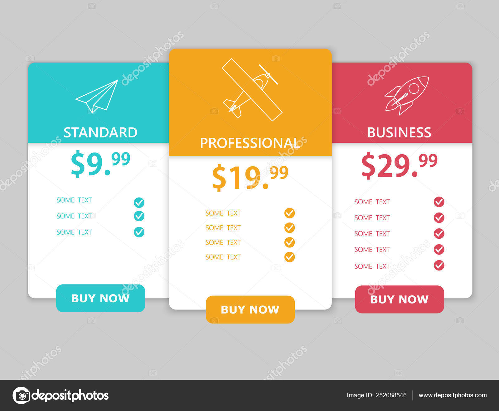 Creative Web Table Design