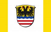 Der Wetteraukreis ist ein Kreis in der Mitte Hessens. 3D-Illustration