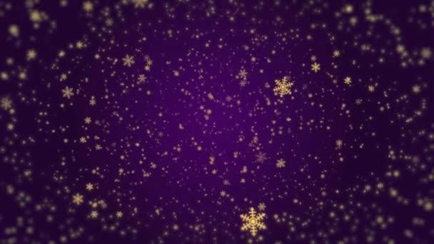 Šeřík Vánoční sněhové vločky padající lesklá pozadí pro vaše oslavy nebo pozdravy.