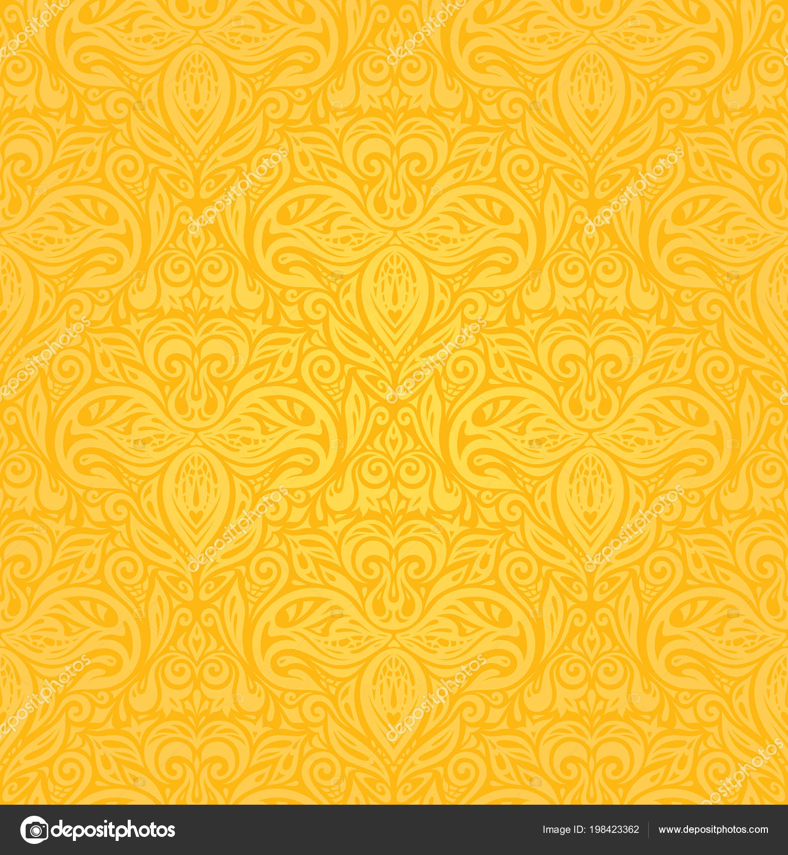 Colorful Flower Wallpaper Designs Yellow Colorful Floral
