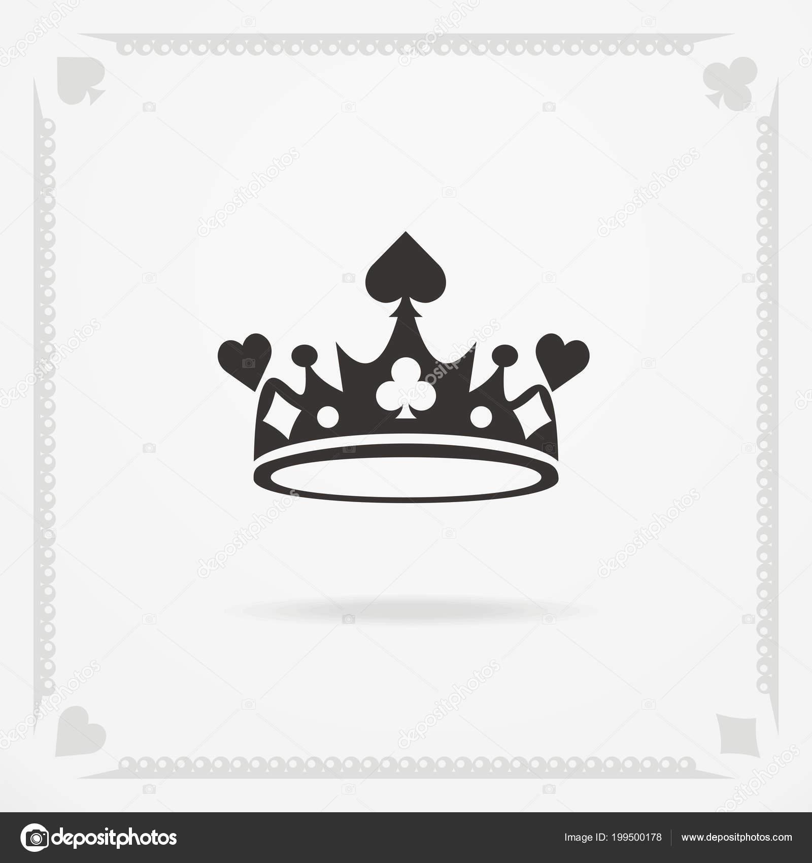 Símbolo de la corona de rey — Vector de stock © fontgraf #199500178