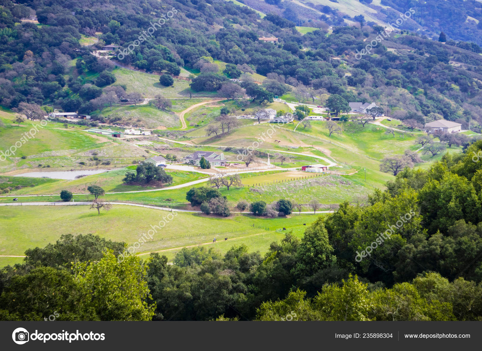 Farms Hills South San Francisco Bay Gilroy California