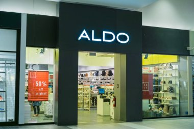 August 4, 2017 Milpitas/CA/USA - Aldo's storefront located at the Great Mall, San Francisco bay area