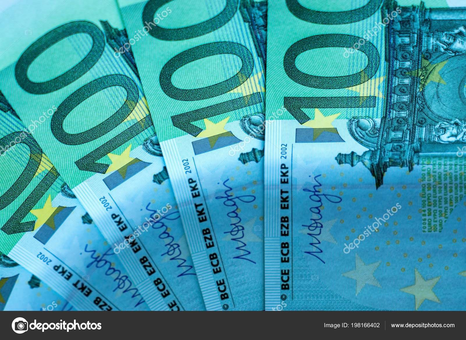 Stock Fragment Banknote Malven Photo Abstract 198166402 Hundred Wallpaper Background Financial © Euros —