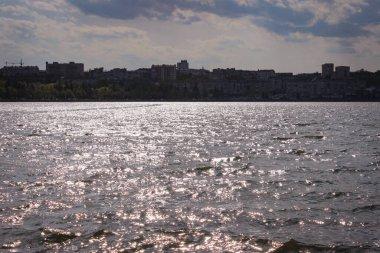 """Картина, постер, плакат, фотообои """"the overflows of the sunset in the waterers of a calm lake . арт"""", артикул 389840156"""