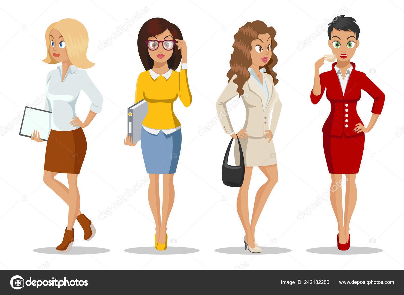 05f1b49f9b6e Conjunto de lindo para mujeres jóvenes en hermoso estilo. Diseño de ...