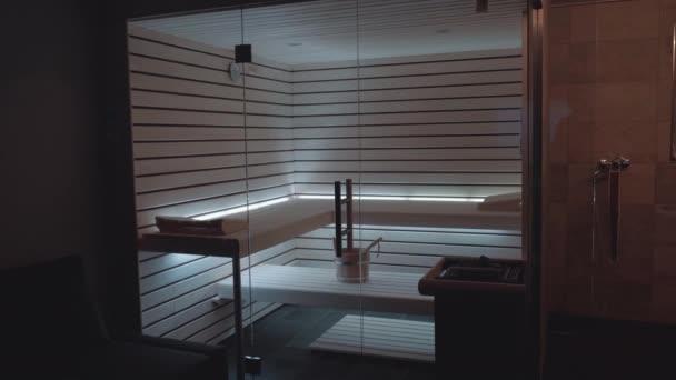 Moderní osobní sauna