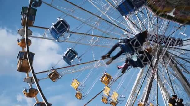 Swing Chair Rides and Farris Wheel at Theme Park 2