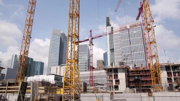 Stavební práce a mrakodrapy