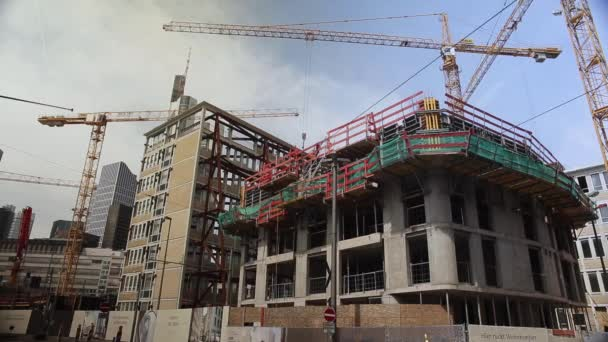 Buildings Construction Activity in Time Lapse