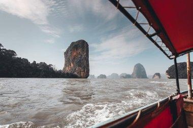 Scenic view of Phang Nga Bay Thailand