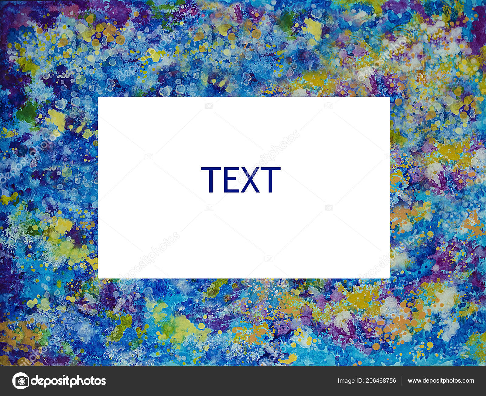 Background Frame Oil Painting Space — Stock Photo © alexandralarin5 ...