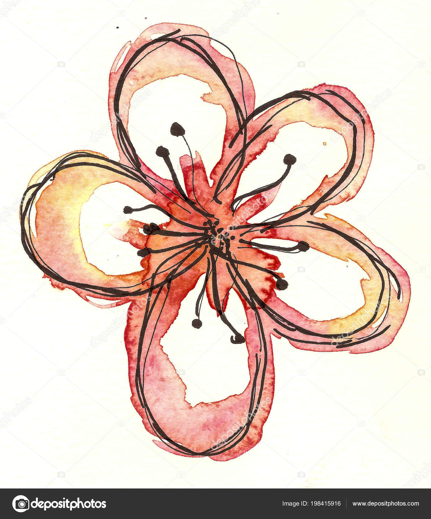 Áˆ Flower Stock Pictures Royalty Free Flower Drawings Images Download On Depositphotos