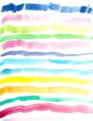 Fotografie handgezeichnete Aquarell-Linie Hintergrund, Muster