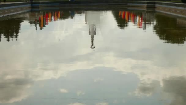 Reflection Architecture And Sky In The Water
