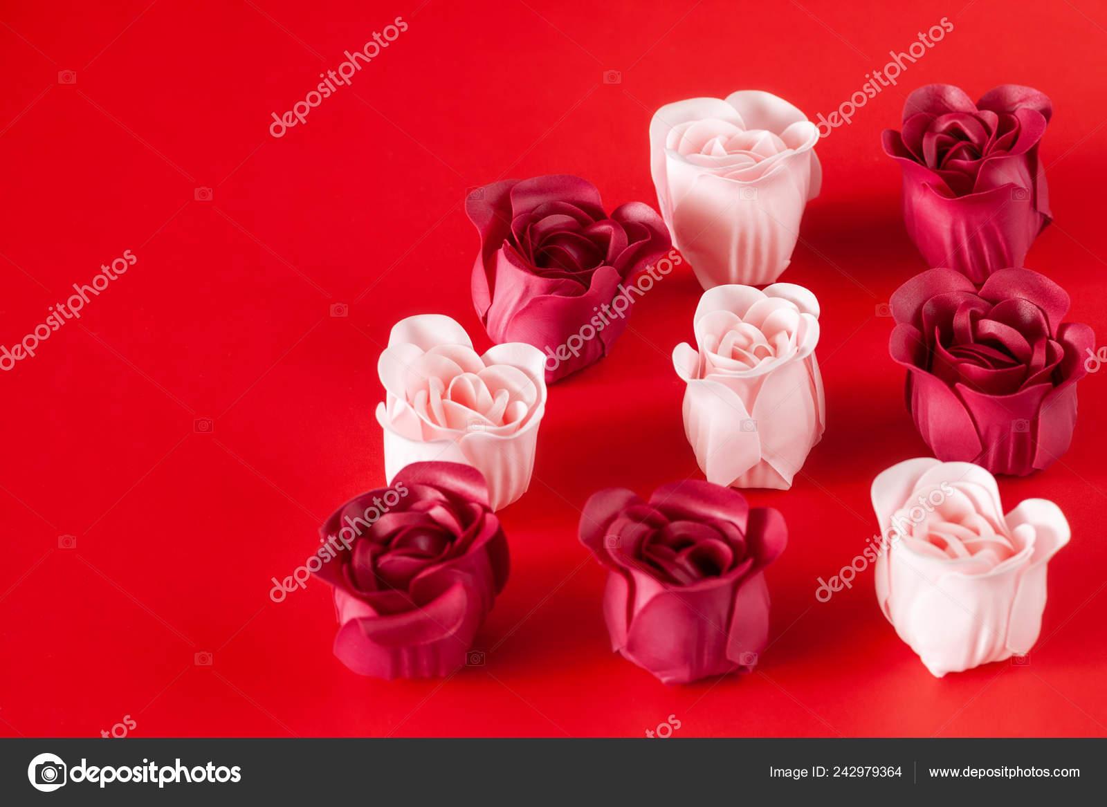 Table Gift Set Soap Valentine Day Stock Photo C Ikterna 242979364