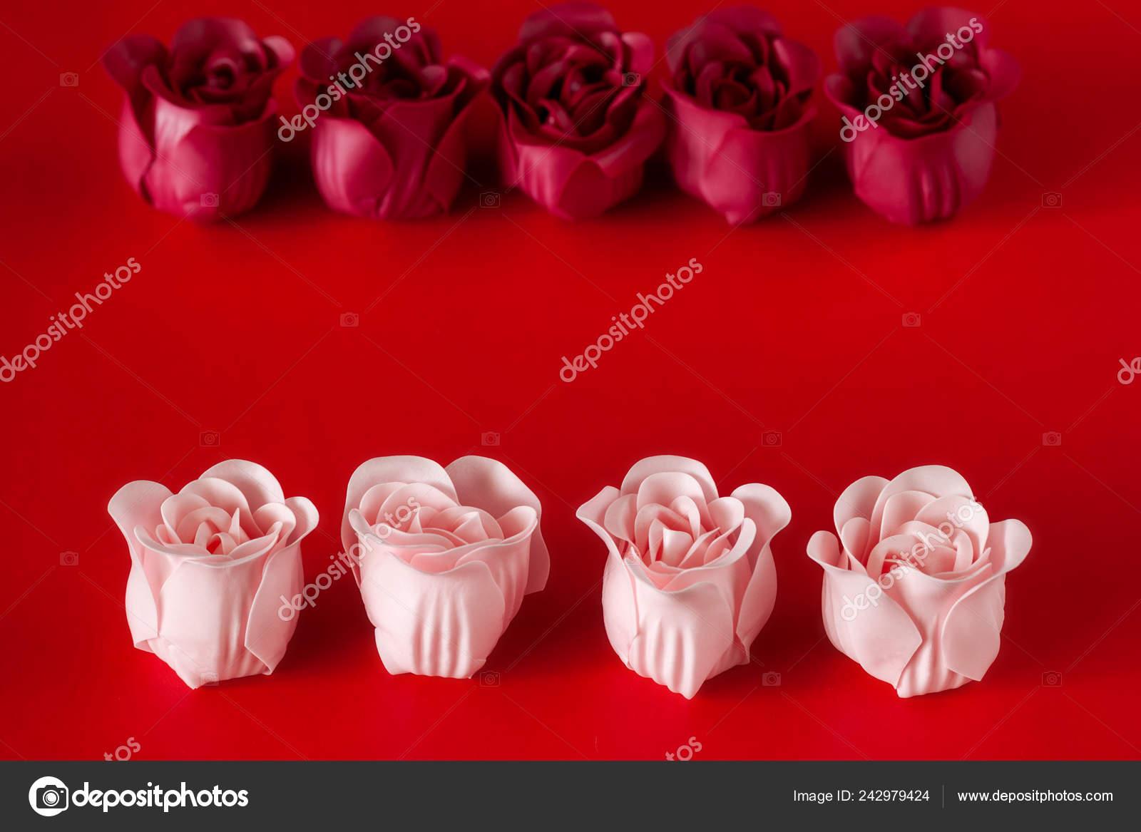 Table Gift Set Soap Valentine Day Stock Photo C Ikterna 242979424