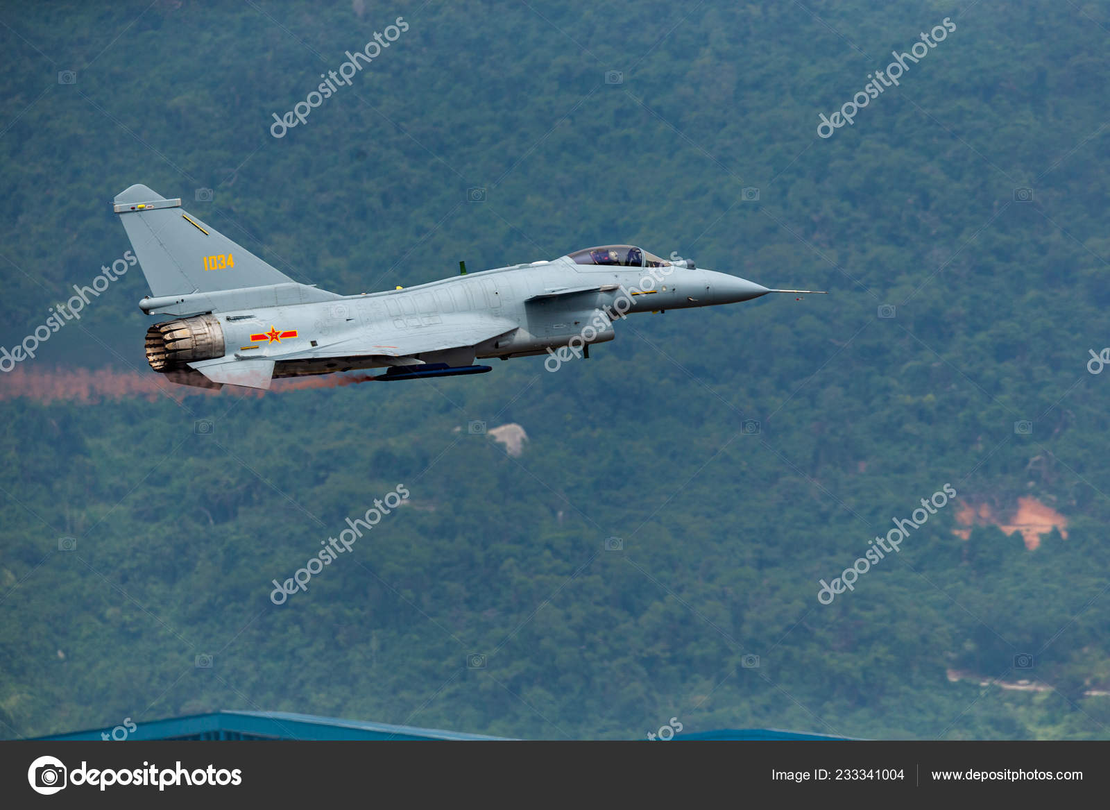 10B Fighter Jet Chinese People Liberation Army Pla Air Force – Stock