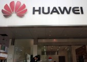 View of a Huawei store in Jinan city, east Chinas Shandong  province, 12 May 2016