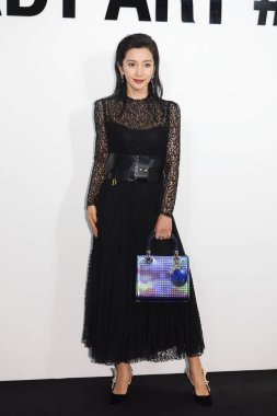 Chinese actress Li Bingbing attends a promotional event for Dior in Shanghai, China, 13 December 2018.