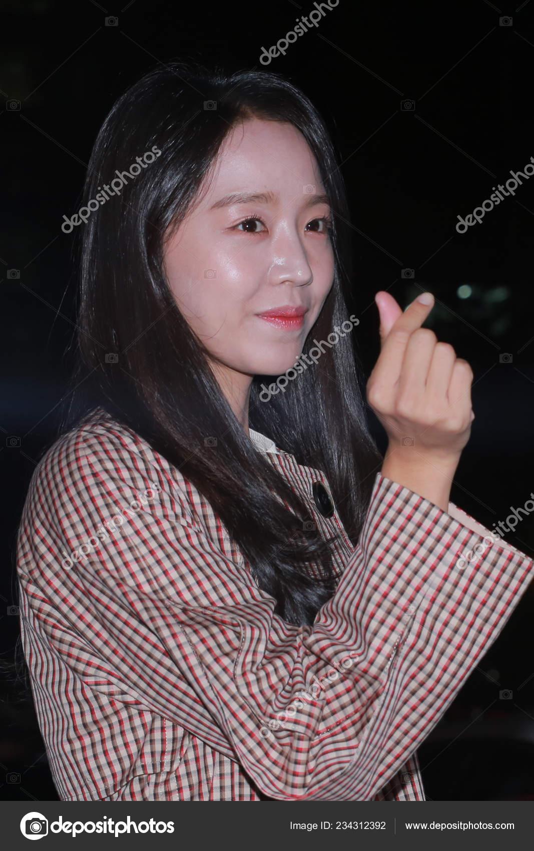 South Korean Actress Shin Hye Sun Arrives Banquet New Series – Stock