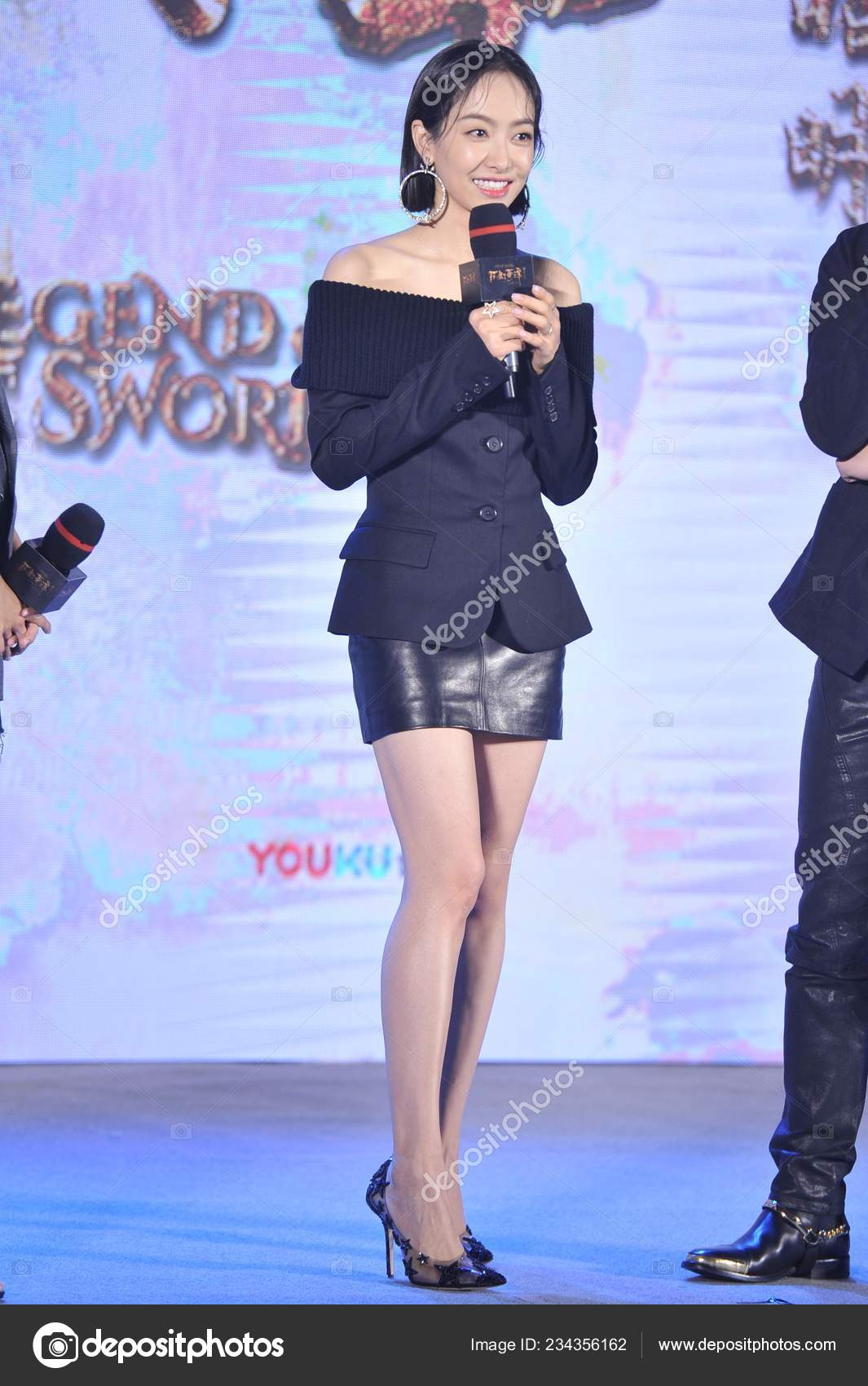 Chinese Singer Actress Victoria Song Song Qian Attends Press Conference Stock Editorial Photo C Chinaimages 234356162