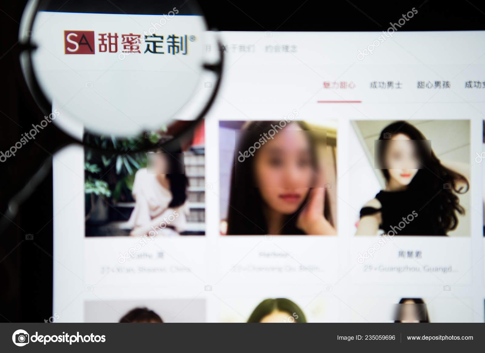 dating website china