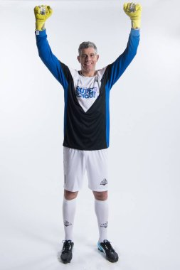 **EXCLUSIVE**Portrait of Italian former football player Francesco Toldo for the 2018 Super Penguin Soccer Celebrity Game in Shanghai, China, 31 May 2018.