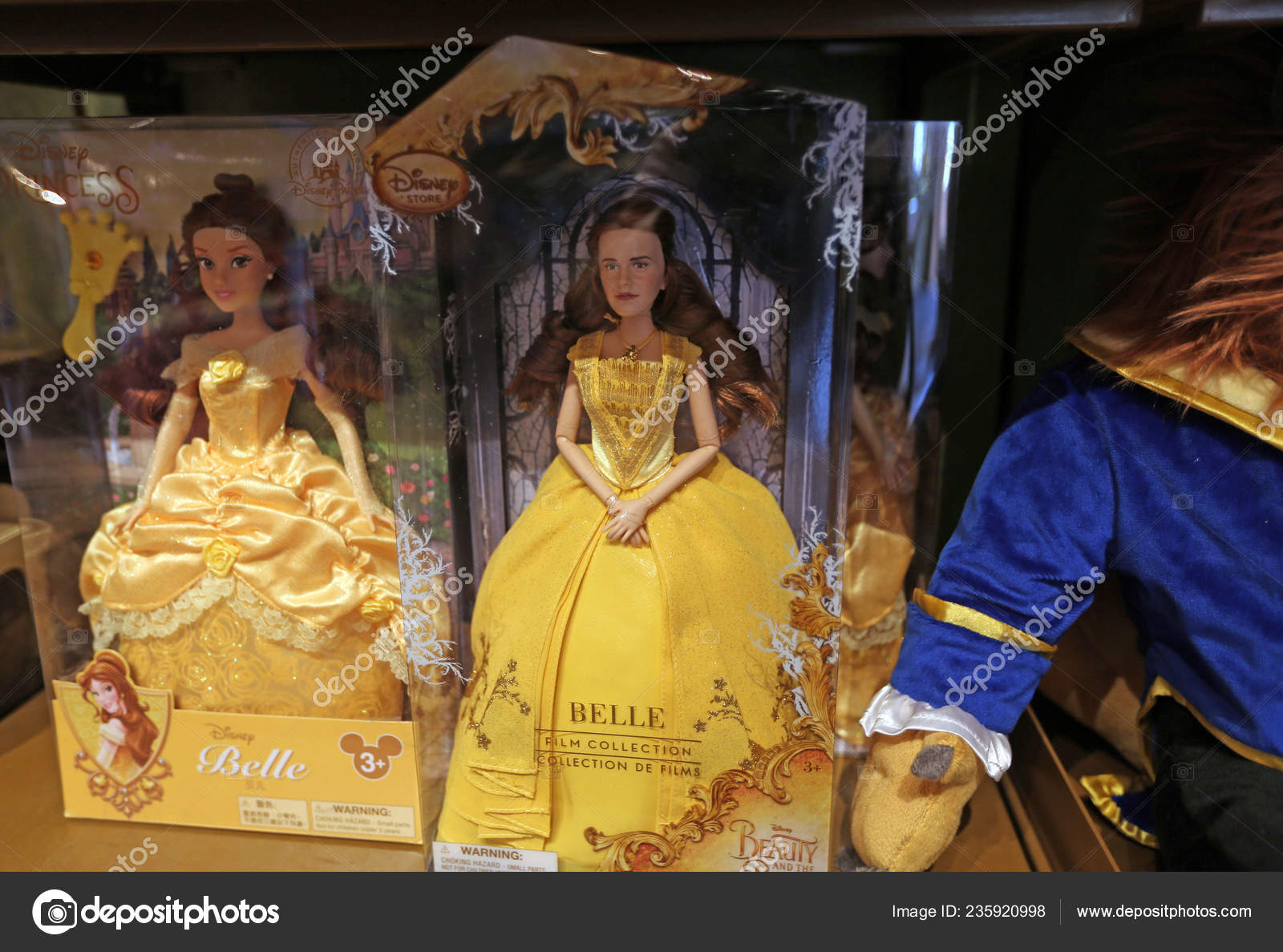 Toy Emma Watson Playing Role Belle Movie Beauty Beast Resembling Stock Editorial Photo C Chinaimages 235920998