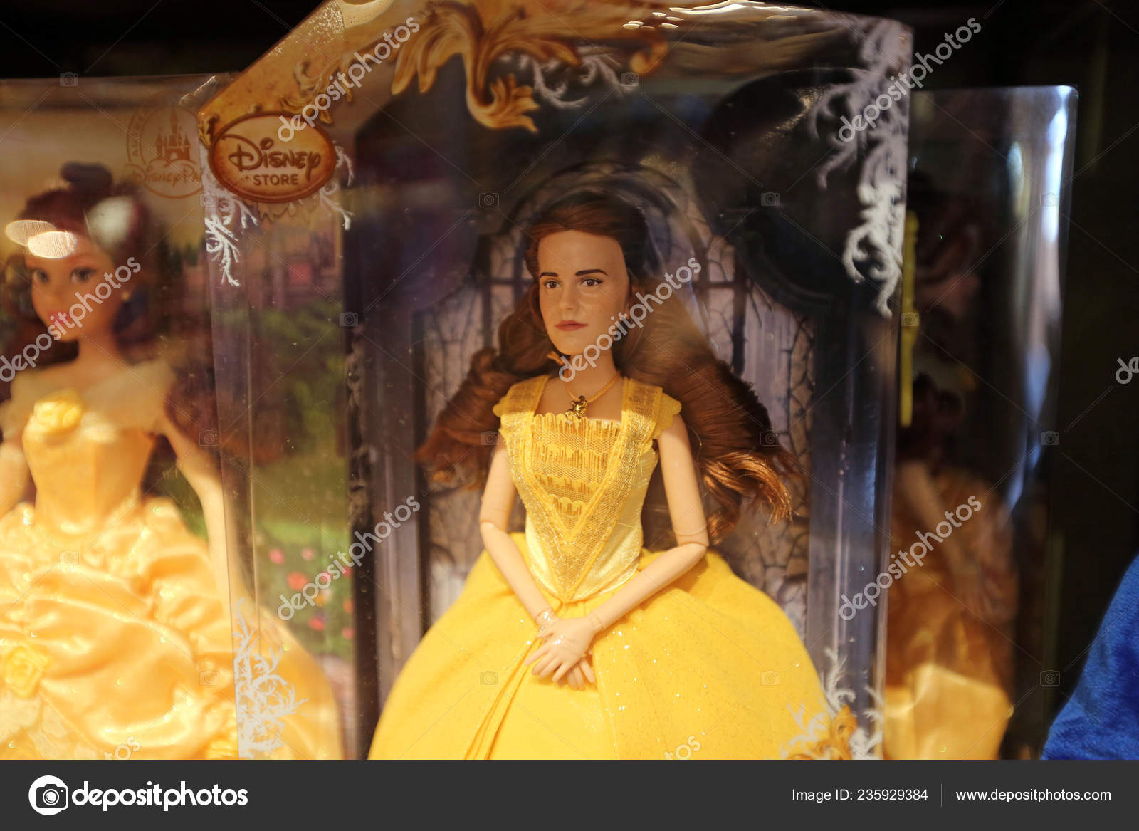 Toy Emma Watson Playing Role Belle Movie Beauty Beast Resembling