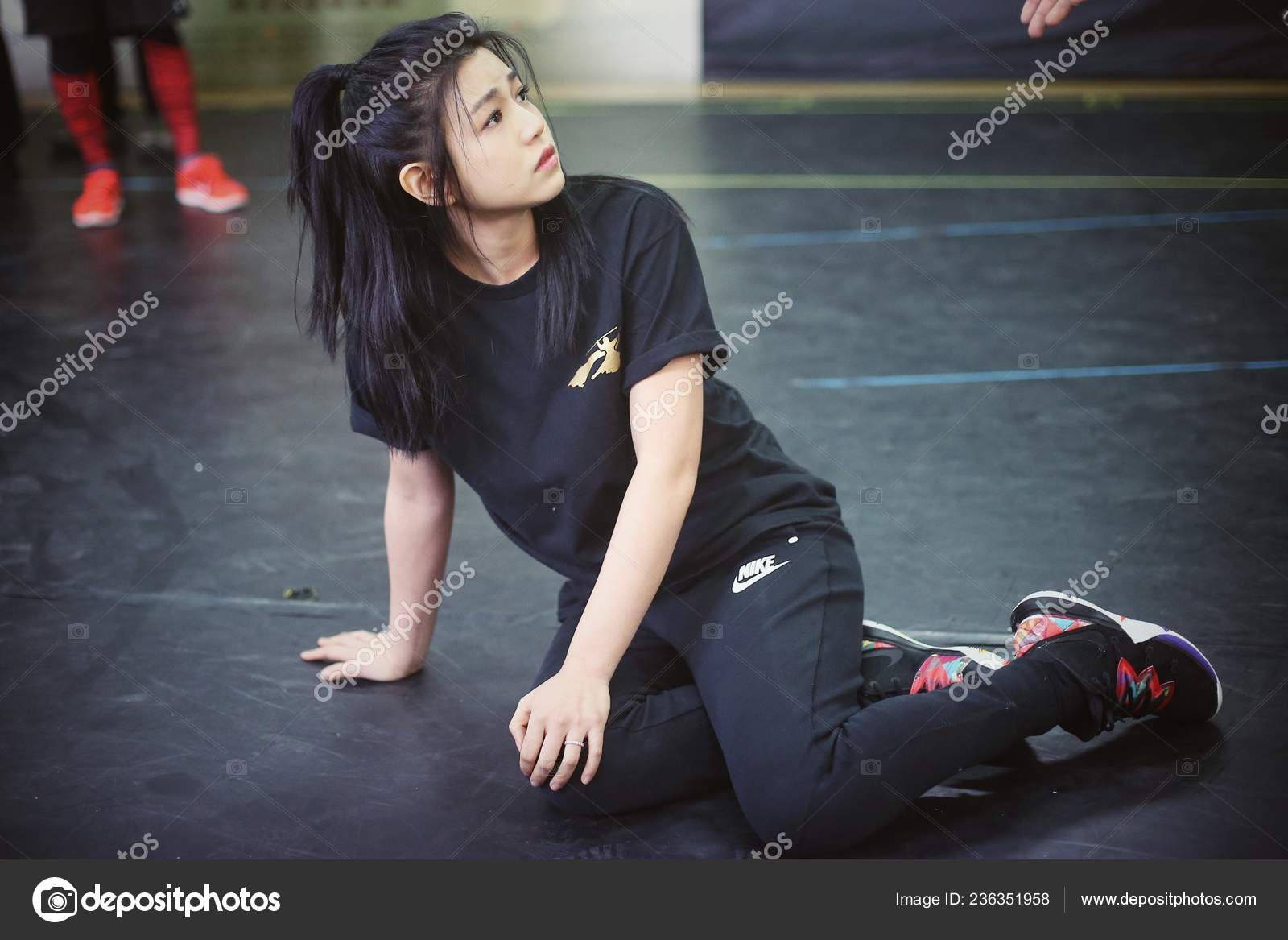 Taiwanese Actress Michelle Chen Participates Rehearsal Her