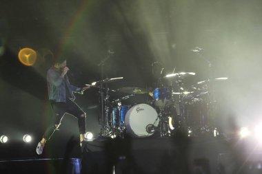 **HONG KONG OUT**American pop rock band OneRepublic performs at a concert in Hong Kong, China, 19 September 2017
