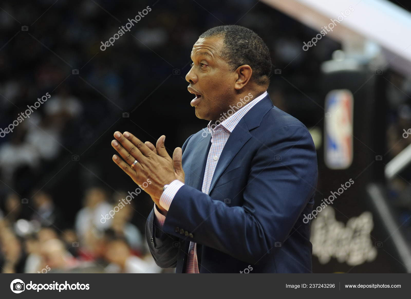 Head Coach Alvin Gentry New Orleans Pelicans Gives