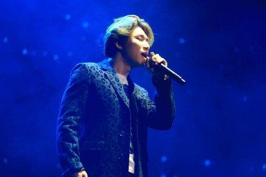 Kang Dae-seong, better known by his stage names Daesung and D-Lite, of South Korean boy band BigBang or Big Bang, performs during the Bigbang 2016