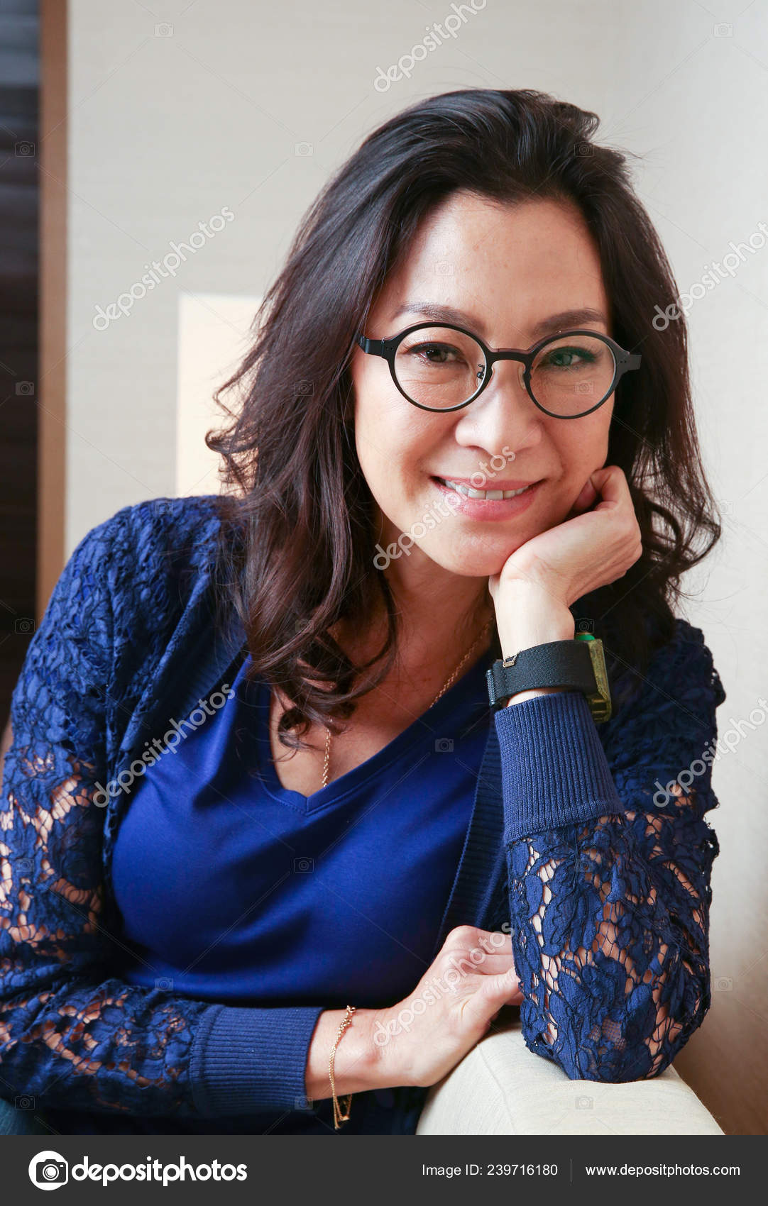 Malaysian Actress Michelle Yeoh Poses Interview Promote Her New Movie Stock Editorial Photo C Chinaimages 239716180