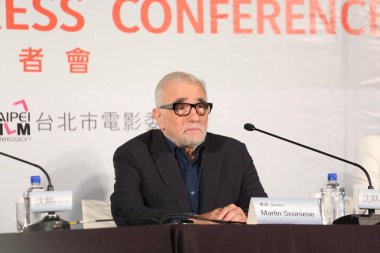 American director Martin Scorsese attends an international press conference for his movie