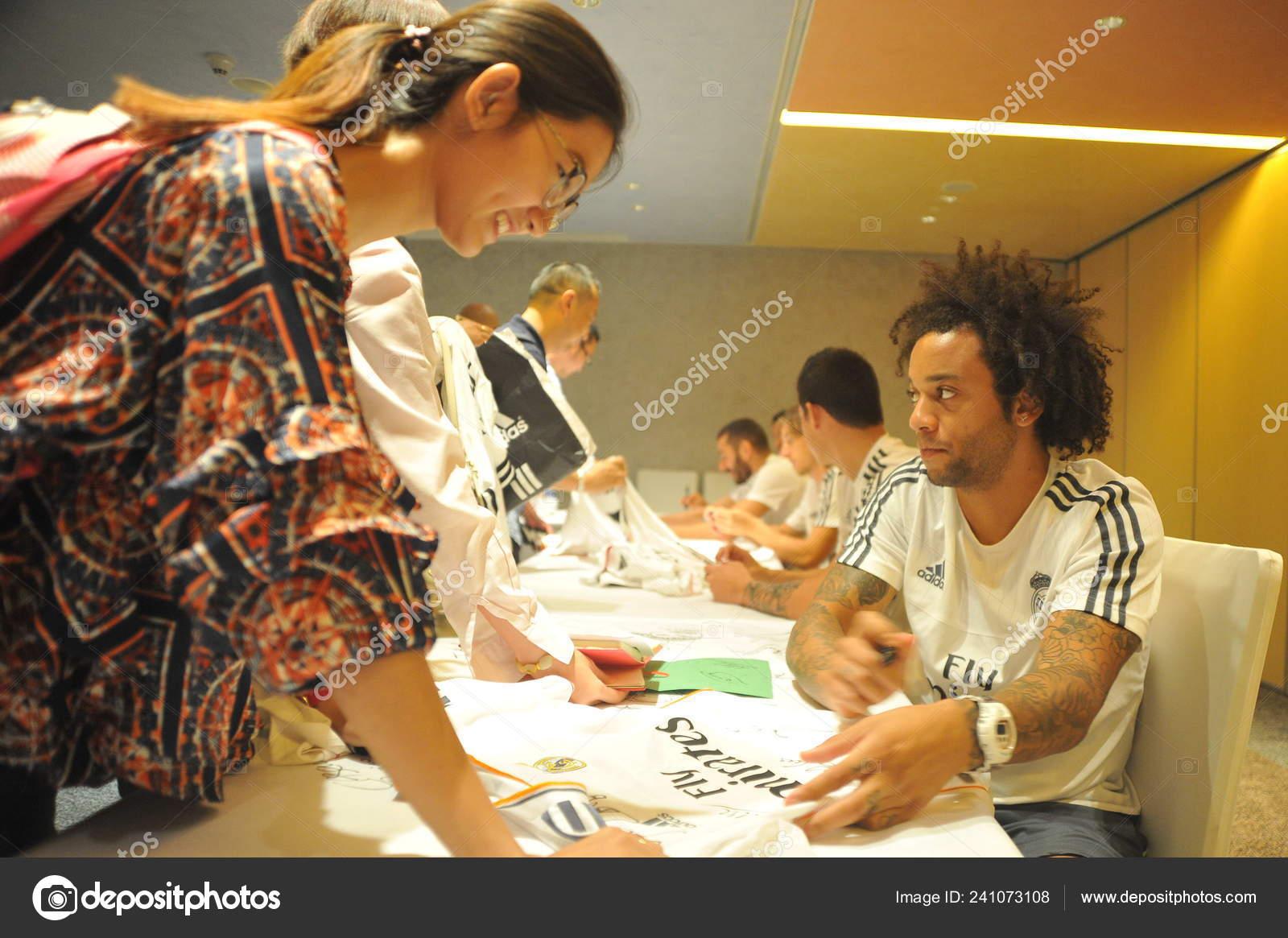 Сергио реал мадрид автограф