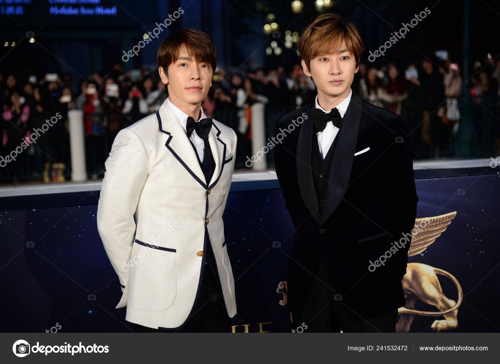 Lee Donghae Left Eunhyuk South Korean Pop Group Super Junior Stock Editorial Photo C Chinaimages 241532472