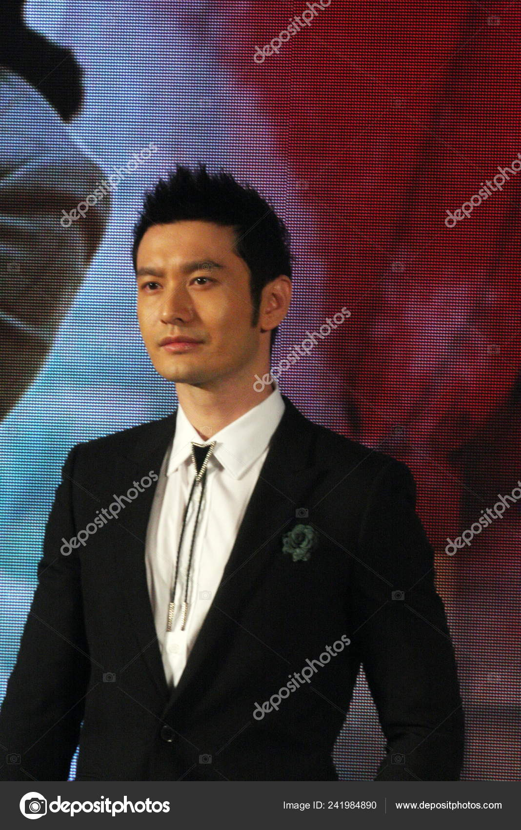 Chinese Actor Huang Xiaoming Attends Press Conference His ...