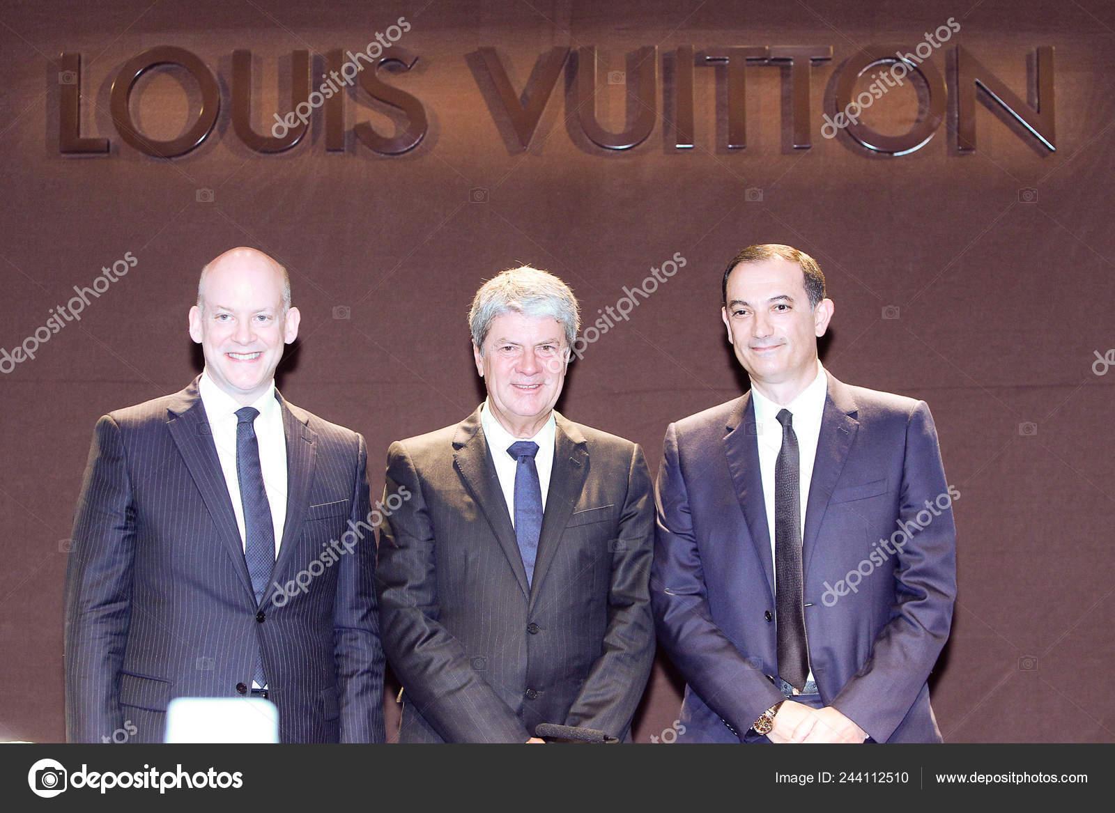 9afe7621bdb Left Executive Vice President Louis Vuitton Christopher Zanardi ...