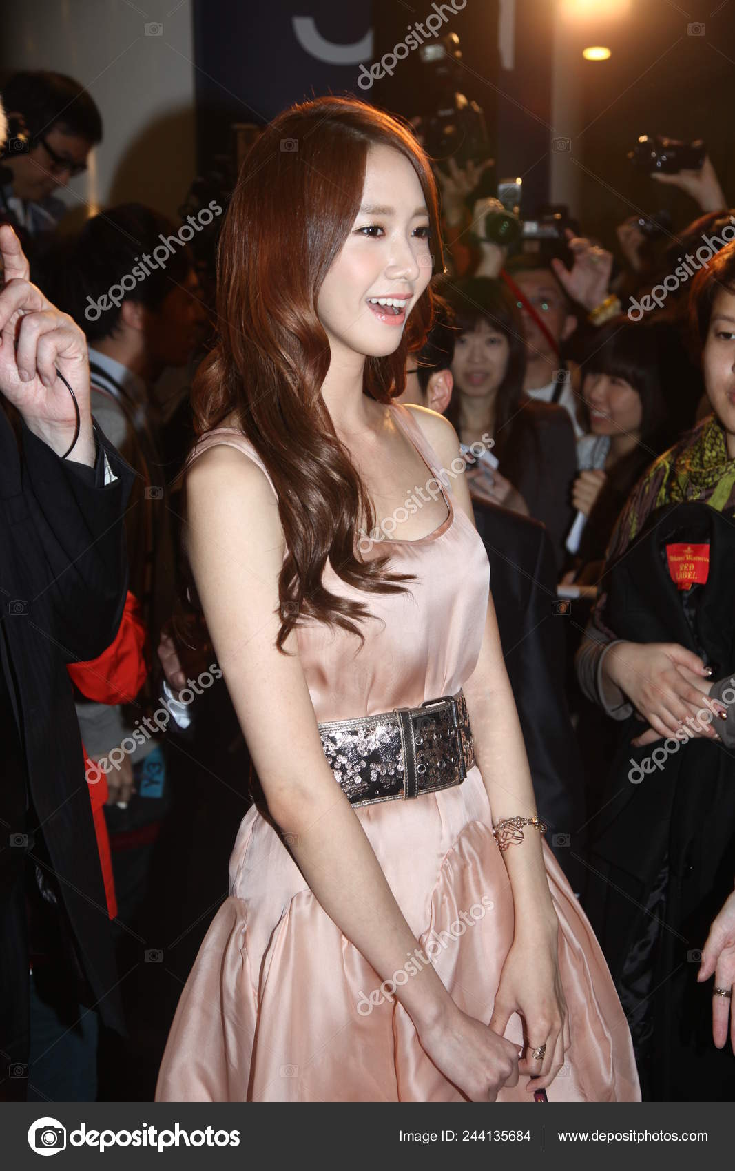 Yoona Yun South Korean Girl Group Girls Generation Arrives