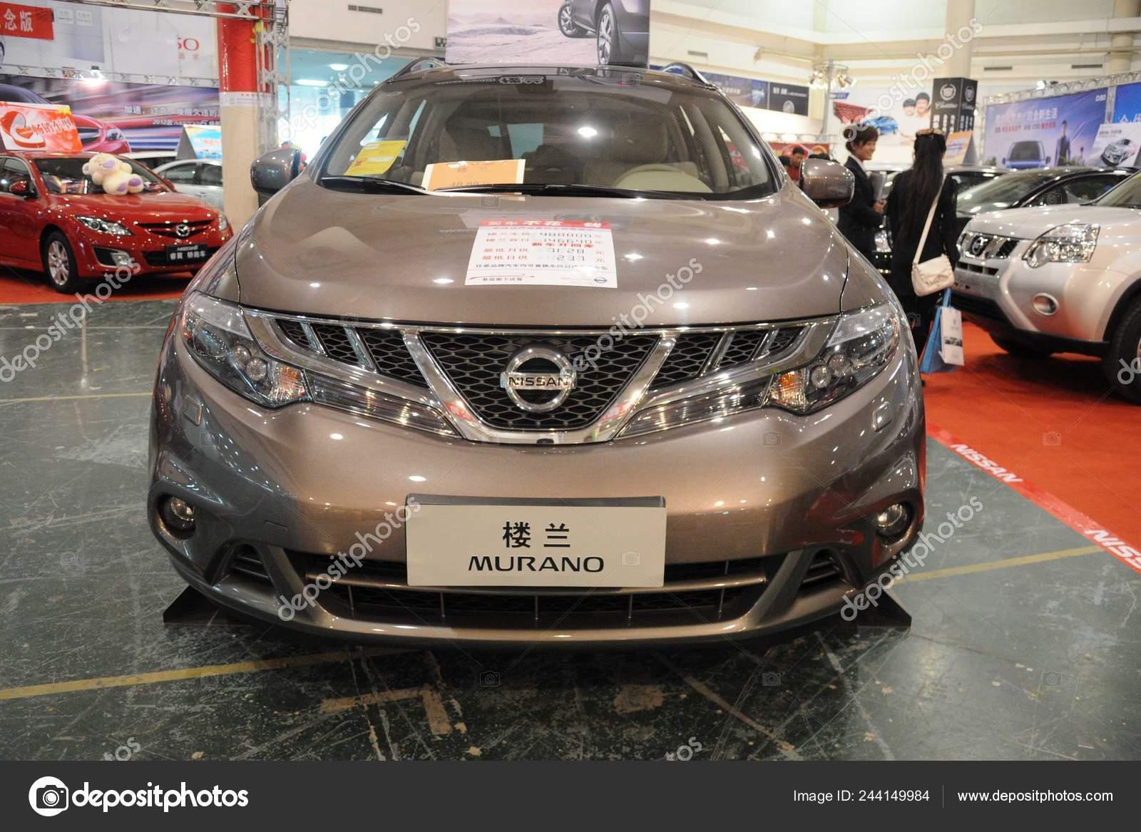 Nissan Murano Exibido Durante Uma Exposicao Automoveis Cidade Binzhou Leste Fotografia De Stock Editorial C Chinaimages 244149984