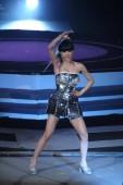 Tajvani énekes Jolin Tsai végzi a World Tour Shanghai koncert 2012-ben Sanghaj, Kína, 2012. július 14..