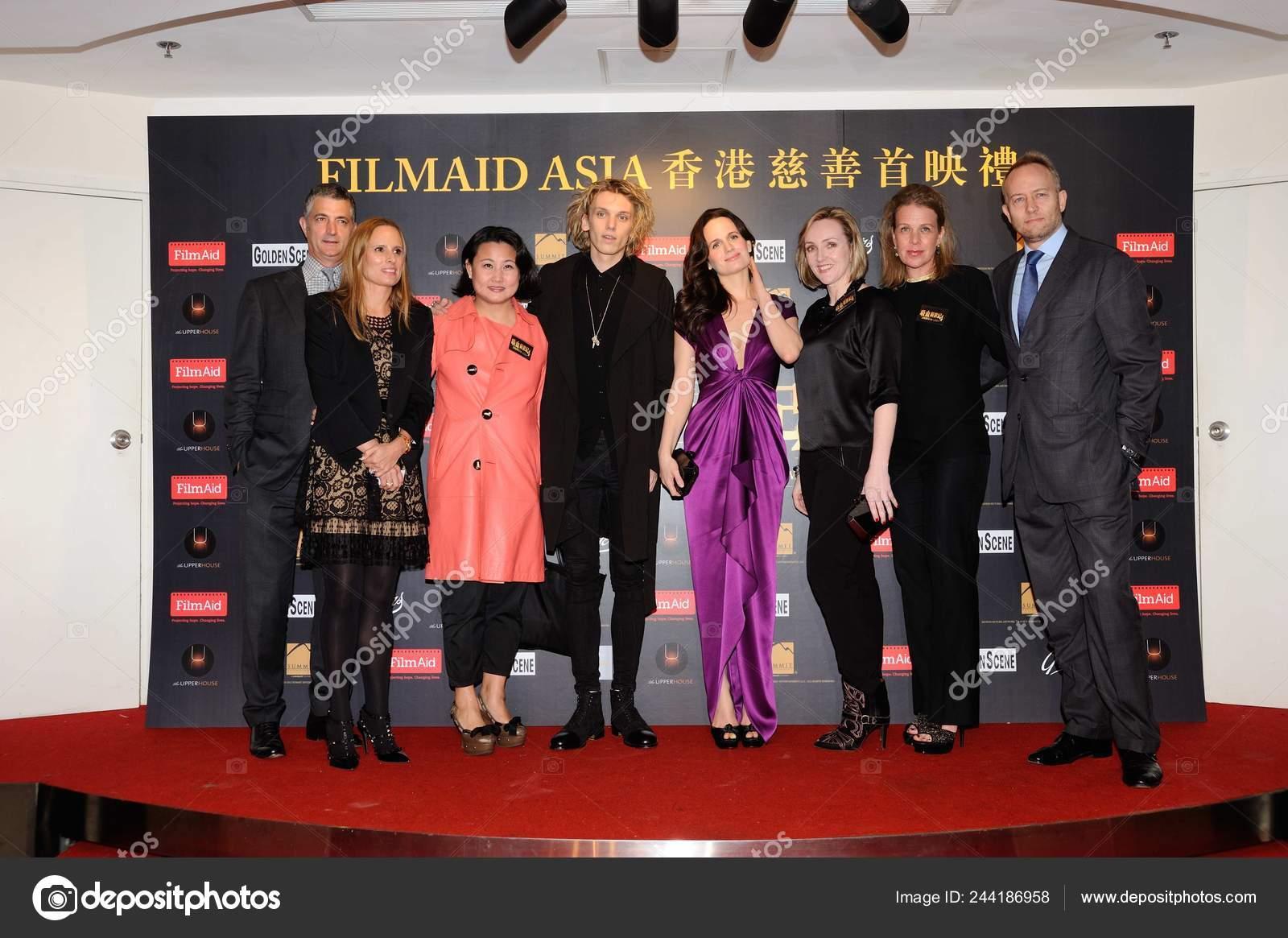 Actriz Estadounidense Elizabeth Reaser Cuarto Derecha Inglés Actor ...