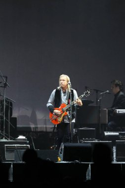 American rock band The Eagles perform at a concert of their world tour in Hong Kong, China, 18 March 2011.