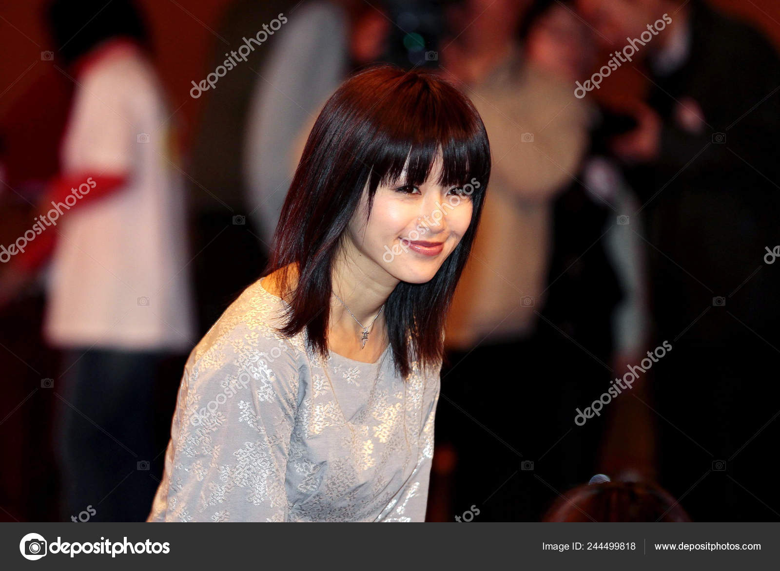 Japanese Actress Noriko Sakai Who Pleaded Guilty Drug Use 2009 Stock Editorial Photo C Chinaimages 244499818