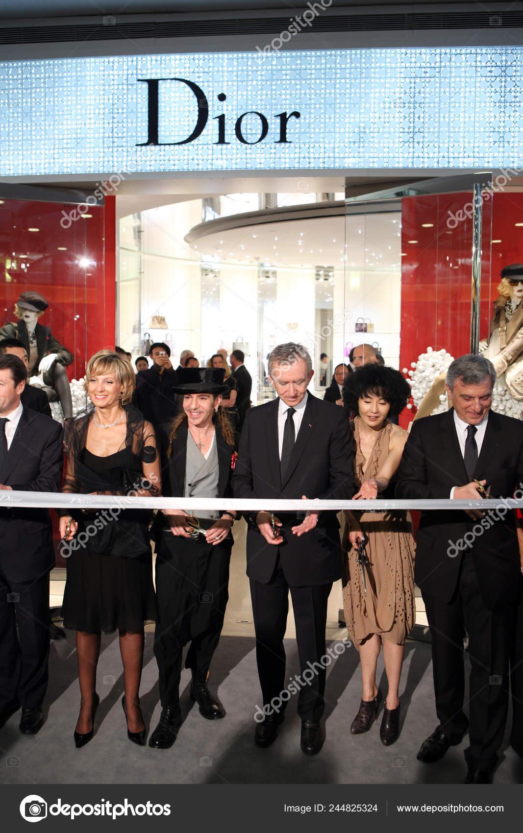 Fashion Designer John Galliano Founder Chairman Ceo Lvmh